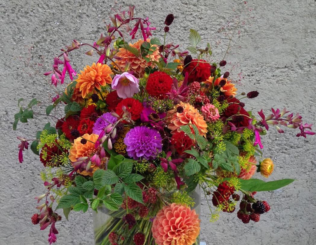 """Blumenstrauß """"Dahlien-Charme"""""""
