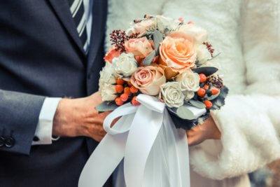 Brautstrauss Einfach Nur Rosen1
