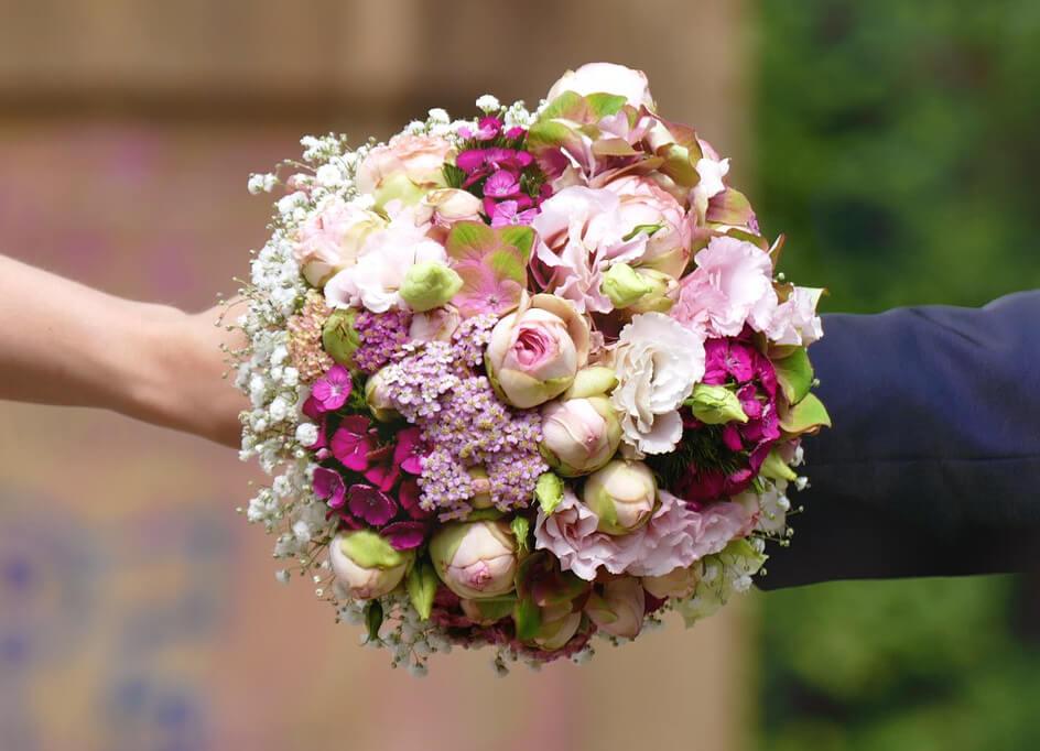 Hochzeits Klick Blumen Muller