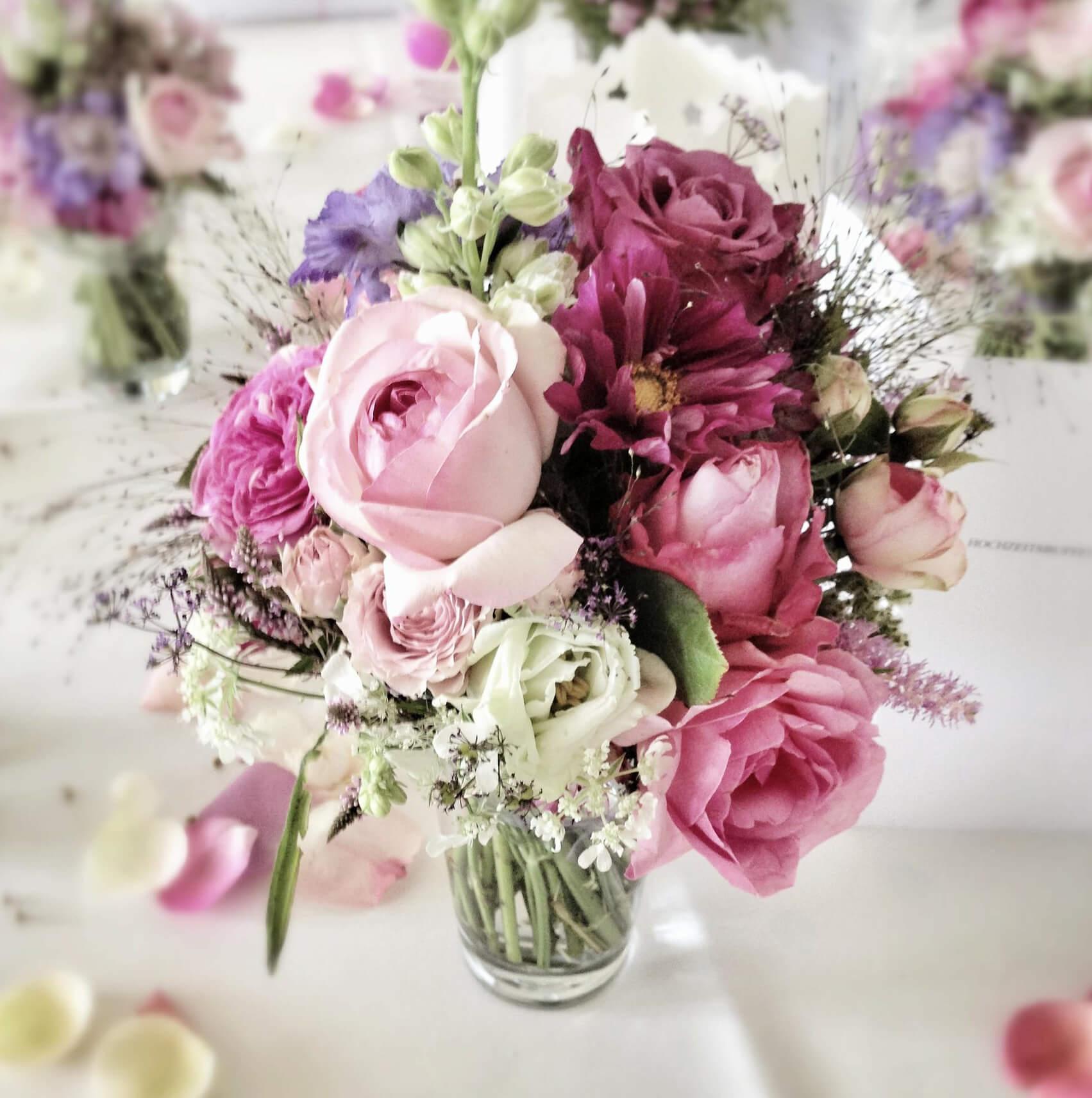 Blumenstrauss Blumen Muller